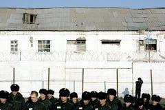 Internos en la prisión Imagen de archivo