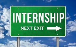 internship Immagine Stock Libera da Diritti
