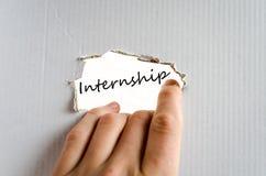 Internship Concept Stock Photos