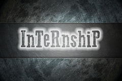 Internship Concept Stock Image