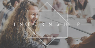 Internship Learning Career Preparation Concept royalty free stock photo