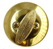 internt lås för dörr Fotografering för Bildbyråer