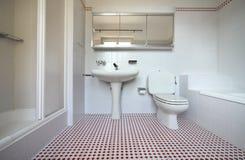 internt trevligt för badrum arkivfoto