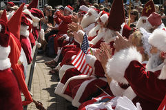 INTERNTIONAL SANTA CONVENTION IN COPENHAGEN Stock Images