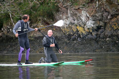 internu paddle fotografia stock