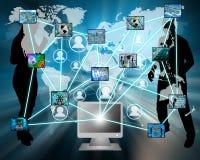 Intero Internet Immagine Stock
