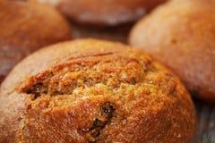 Intero muffin del grano Immagini Stock Libere da Diritti