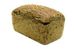 Intero pane compitato su fondo bianco immagini stock