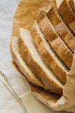 Intero pane del grano caldo Fotografie Stock
