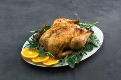 Intero pollo Fotografie Stock Libere da Diritti