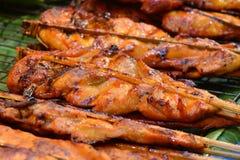 Intero pollo arrostito Fotografie Stock Libere da Diritti