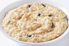 Intero porridge dell'avena del grano Immagine Stock Libera da Diritti