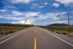 Interoceanic huvudväg Arkivfoto