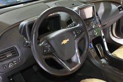 Interor автомобиля белизны вольта Шевроле Стоковая Фотография