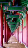 Interor coreano sul do castelo Imagens de Stock