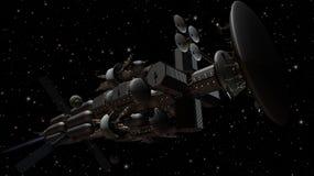 Interorbital Vervoerder Royalty-vrije Stock Foto