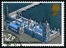 Interparlamentarische Briefmarke der Konferenz-62 Lizenzfreie Stockbilder