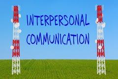Interpersonal Communication concept Stock Photos