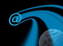 Interplanetary communications Stock Images