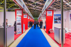 Interplastica 2017- trade fair plastics and rubber Stock Image