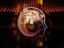 Virtualization of Human Technology Stock Photos