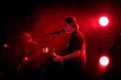 Interpol (alternative indie rock band from New York) performance at Primavera Sound 2015 Stock Photo