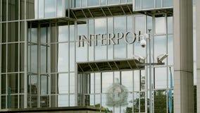 Interpol stock video