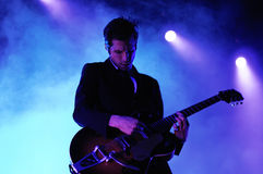 Interpol performs at Barcelona Stock Photography