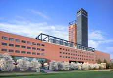 Interpolis-Versicherungsgesellschaftshauptsitze, Tilburg, die Niederlande Stockfotografie