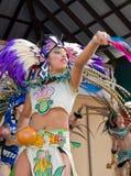 Interprète aztèque images libres de droits