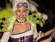 Interprète dans le festival 2009 de la Tamise Images stock