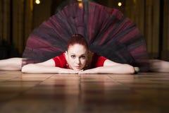Interprète de ballerine dans la ville Photos libres de droits