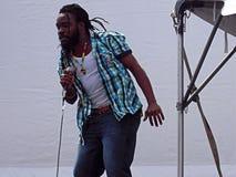 Interprète de festival de reggae de Newport Photo libre de droits