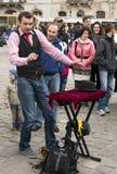 Interprète de rue Photographie stock libre de droits