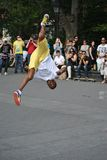 Interprète de rue de New York City Images libres de droits