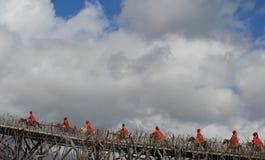 Interprètes dans Lijiang Images libres de droits