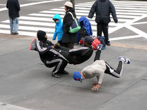 Interprètes de rue, New York Photographie stock
