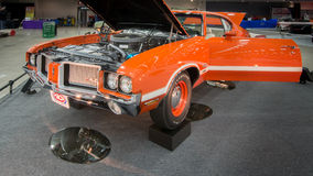 Interprétation 1972 d'Oldsmobile (Olds) Cutless 442 Photographie stock