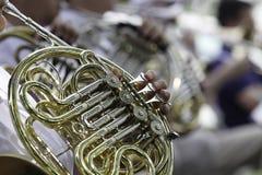 Interprétation d'orchestre symphonique Image libre de droits