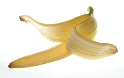 Interpréteur de commandes interactif de banane Photo stock