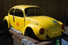 Interpréteur de commandes interactif de coléoptère de VW photos stock