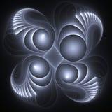 Interpréteur de commandes interactif de fractale illustration de vecteur