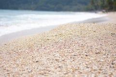 Interpréteur de commandes interactif de plage Images libres de droits