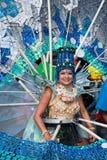 Interpréteurs de commandes interactifs de carnaval Photos libres de droits