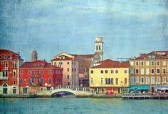 interpretacja romantyczny Venice Zdjęcie Stock
