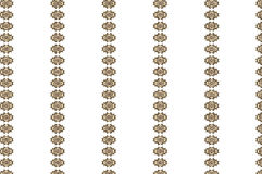 Interpretations. Textile pattern that combines different tones of golden decoration in a really elegant way for different types of supports Stock Image