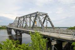 Interprovinzielle Brücke, Ottawa Stockbilder