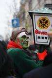 Interprètes de rue de carnaval à Maastricht Photographie stock