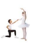 Interracial  children dancing together Stock Photo