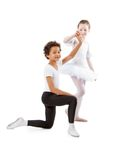 Interracial  children dancing together Stock Photography